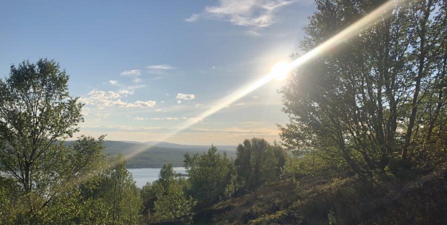 Очередной июньский температурный рекорд в Мурманске