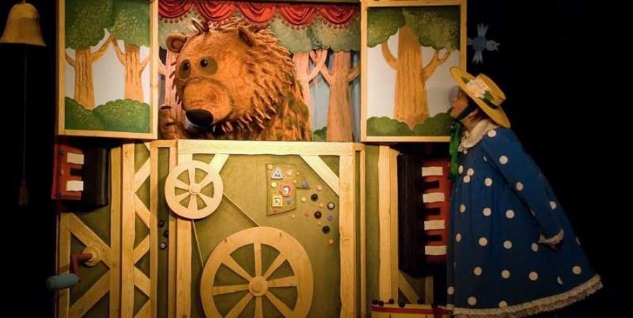 Маленьким мурманчанам покажут сказку «Колобок» из волшебного ящика