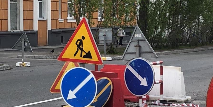Запланирован ремонт 121 улицы в Мурманской области