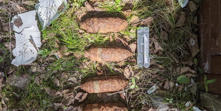 У дороги «Лотта» нашли бронебойно-трассирующие снаряды